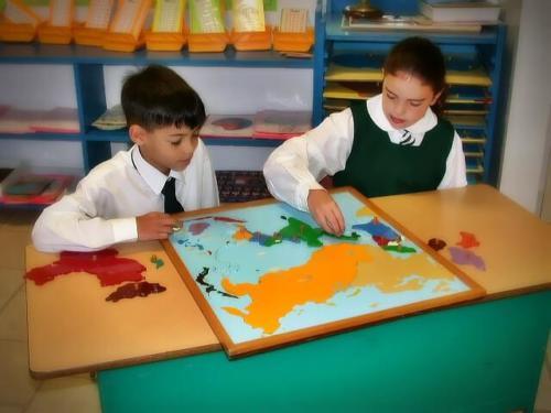 Montesori Geography